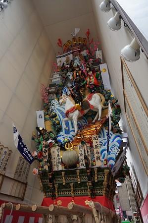 09 博多祇園山笠 2013年 中洲流 飾り山 関ケ原合戦 写真04