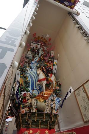 09 博多祇園山笠 2013年 中洲流 飾り山 関ケ原合戦 写真05