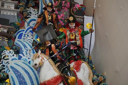 09 博多祇園山笠 2013年 中洲流 飾り山 関ケ原合戦 写真07