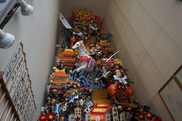 09 博多祇園山笠 2013年 中洲流 飾り山 合戦石垣原 写真07