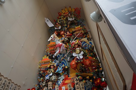09 博多祇園山笠 2013年 中洲流 飾り山 合戦石垣原 写真08