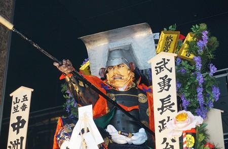 10 博多祇園山笠 2013年 中洲流 舁き山 武勇長政公 ぶゆうながまさこう 写真10