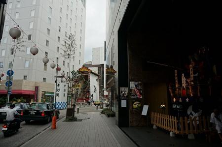 10 博多祇園山笠 2013年 中洲流 舁き山 武勇長政公 ぶゆうながまさこう 写真11位置