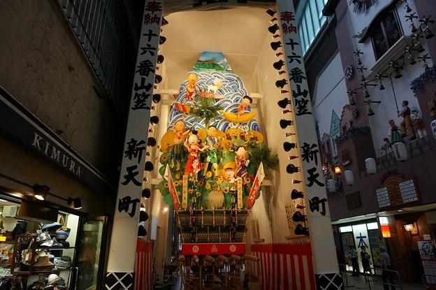 Photos: 11 博多祇園山笠 2013年 新天街 飾り山笠 サザエさん 写真01