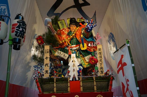 16 博多祇園山笠 2013年 千代流 舁き山笠 英傑傾天下尚潔 写真03