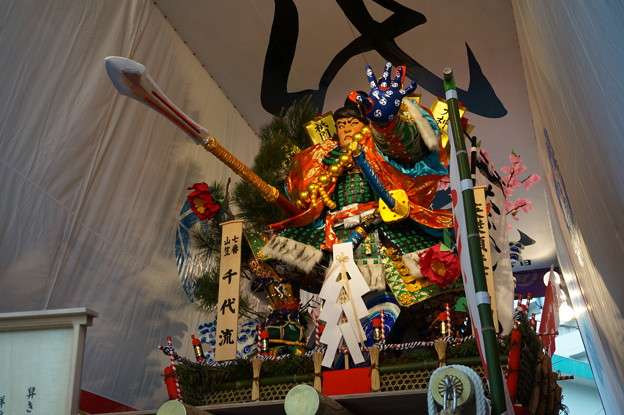 16 博多祇園山笠 2013年 千代流 舁き山笠 英傑傾天下尚潔 写真07