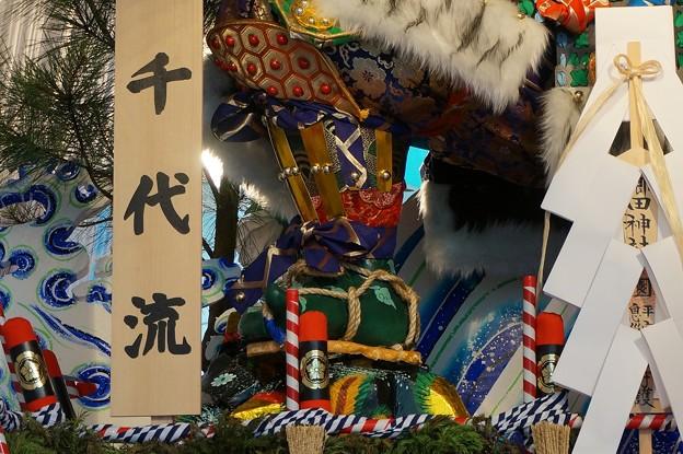 16 博多祇園山笠 2013年 千代流 舁き山笠 英傑傾天下尚潔 写真10