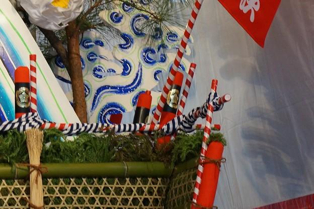 16 博多祇園山笠 2013年 千代流 舁き山笠 英傑傾天下尚潔 写真14