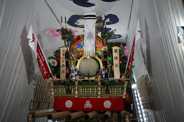 19 博多祇園山笠 2013年 西流 舁き山笠 蘭陵王 らんりょうおう 写真19