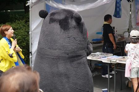 2013年7月26日 福岡市役所ふれあい広場 山鹿市観光物産展 山鹿灯籠まつり くまモン19
