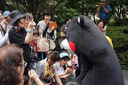 2013年7月26日 福岡市役所ふれあい広場 山鹿市観光物産展 山鹿灯籠まつり くまモン25