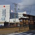 写真: 函館市、昭和橋駅