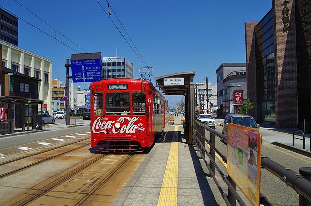 Photos: 万葉線、広小路駅