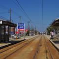 Photos: 万葉線、江尻駅
