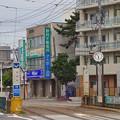 写真: 函館市、深堀町駅