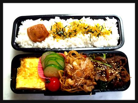 2012/8/10のお弁当