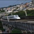 Photos: N700系をズーム流し~