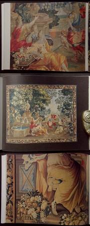 織りだされた絵画 国立西洋美術館蔵,17-18世紀タピスリー1