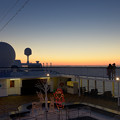 Photos: 相模湾で迎える夜明け