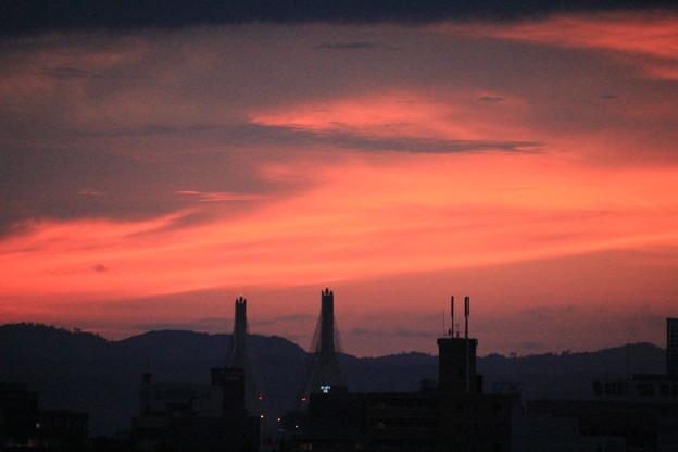 8/2日の夕焼け03-12.08.02