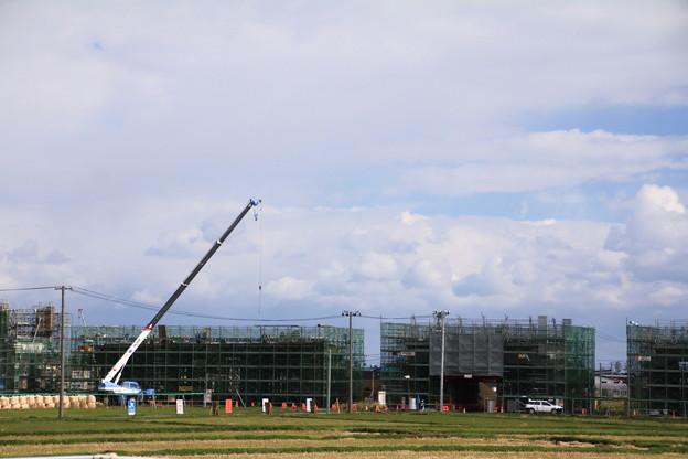 北海道新幹線高架橋建設中01-12.1024