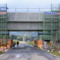 Photos: 北海道新幹線高架橋建設中10-12.10.24