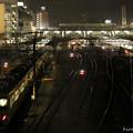 Photos: 1番ホームに電車が到着します