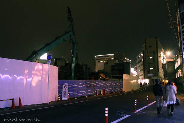 Photos: 解体工事中