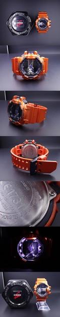 カシオ スマホ GBA-400-4BJF ブルートゥース Bluetooth モバイルリンク 時計