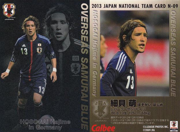 日本代表チップス2013N-09細貝萌(レバークーゼン)