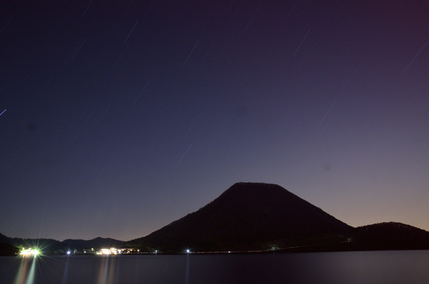 Photos: 榛名湖の星景