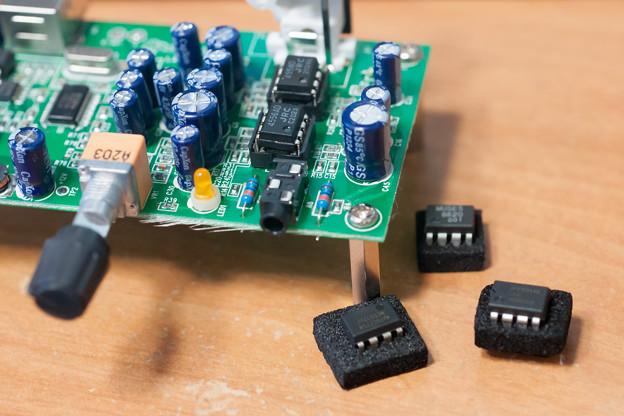 Photos: LXU-OT2 オペアンプ交換