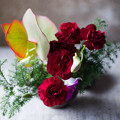 Photos: 玄関のお花