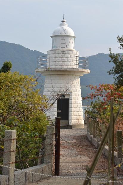 大久野島灯台(進入不可)