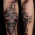タトゥー 大阪 刺青,髑髏,スカル,tattoo画像