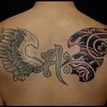 大阪 刺青/翼/羽 梵字 タトゥー 和柄 トライバルタトゥー