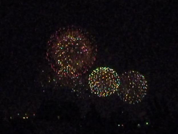 土浦の花火で心霊写真
