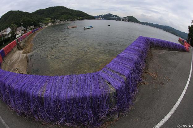 漁網のある風景2