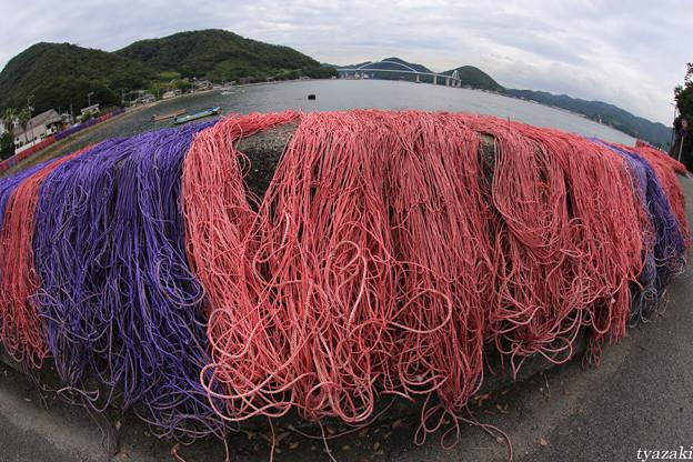 漁網のある風景3