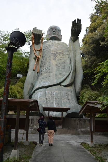 日本一大きい巨大「おびんずる像」  DSC_0180