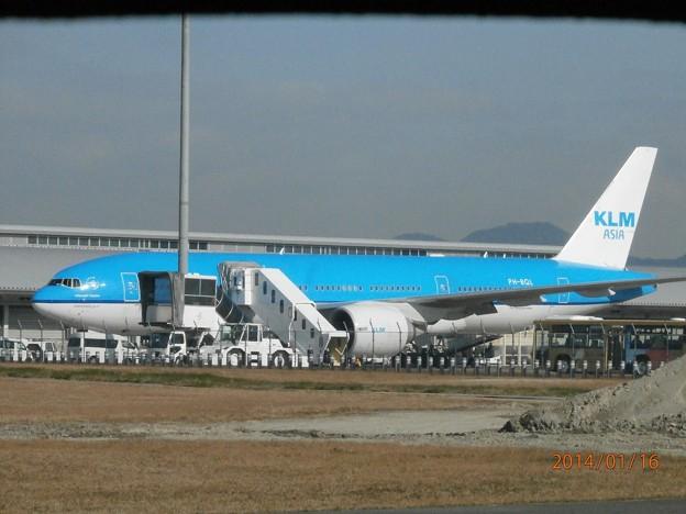 KLMオランダ航空2 PH-BQL