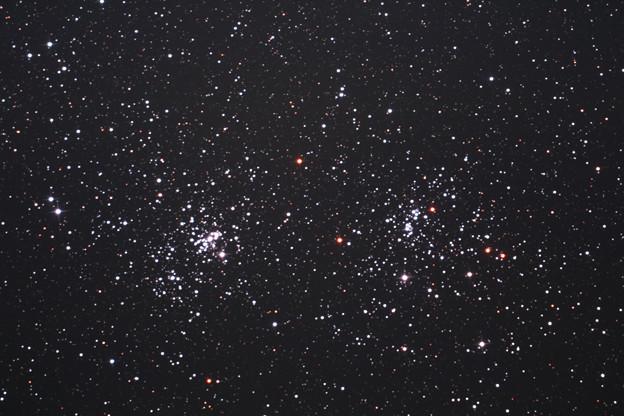 ペルセウス座の二重星団h+χ (^^)
