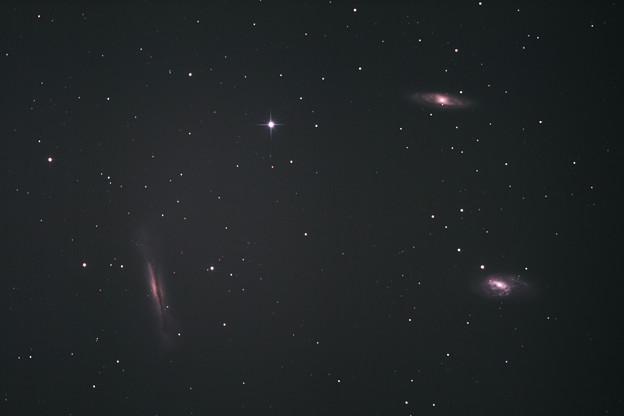 おしい!?しし座の銀河M65(超新星2013am出現前)