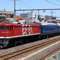 Photos: 配9145レ EF81 95+14系 3両 (スハネ14-702・オロネ14-702・スハネフ14-27)
