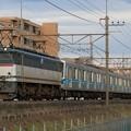 Photos: 9288レ EF65 2070+東京メトロ05系05-106F+05-113F 6両