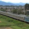 Photos: 臨貨8014レ デキ507+東武10030系11639F+11443F 10両