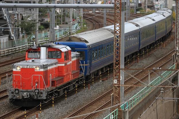 Photos: 試9601レ DD51 895+24系 6両