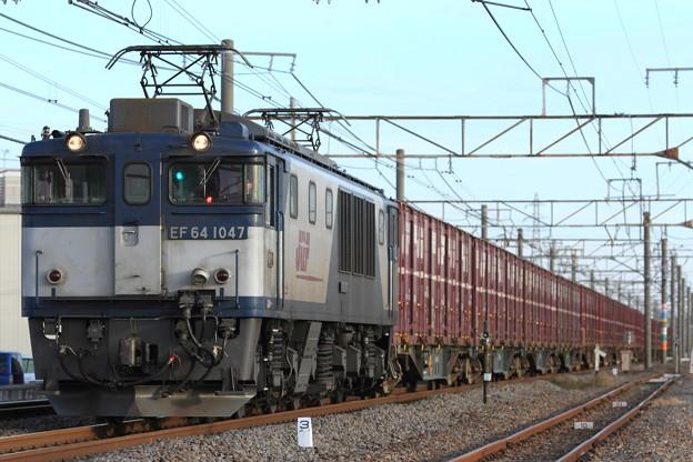 2085レ EF64 1047+コキ