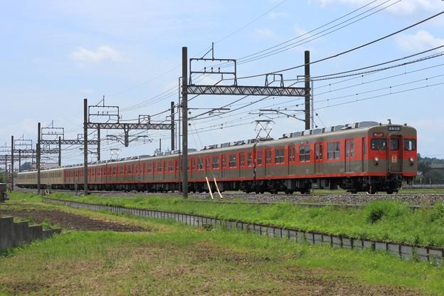 1207レ 東武8000系8111F+81111F 10両