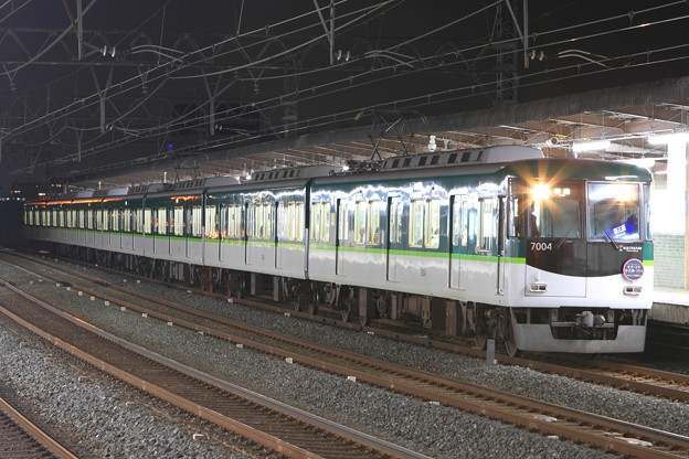 Photos: R2104N 京阪7000系7004F 7両